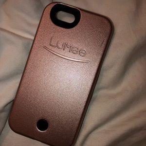 Lumee selfie case for iphone6s